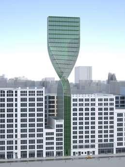 Moebius Strip Tower